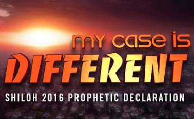DECLARING THE PROPHETIC THEME OF SHILOH 2016