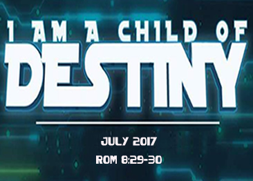 I AM A CHILD OF DESTINY