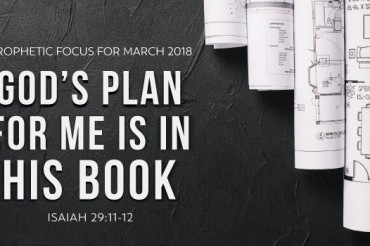 Prophetic Focus for March 2018