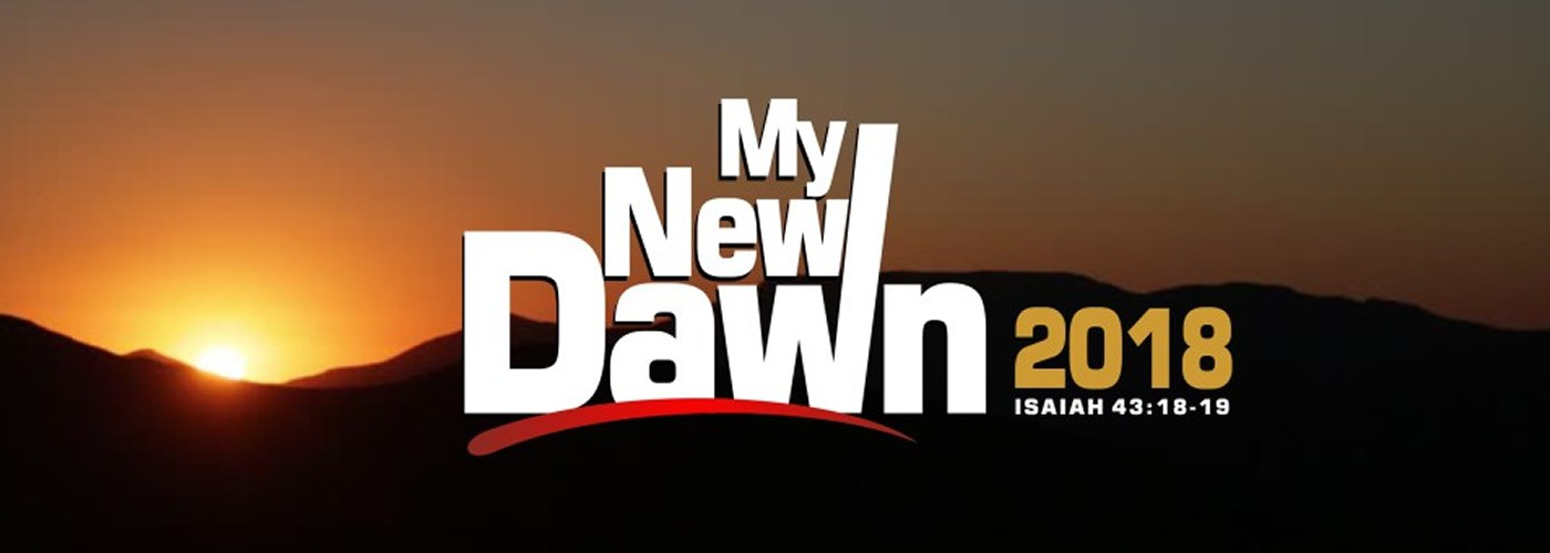 This is your New Dawn Year in Jesus' Name